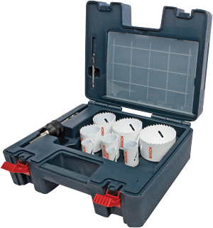 HB19EL 19 pc. Electrician Bi-Metal Hole Saw Set