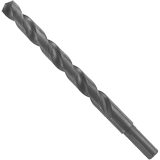 BL2174 47/64 In. x 6 In. Fractional Reduced Shank Black Oxide Drill Bit