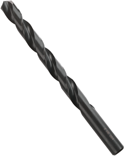 BL4224 6 pc. 5-1/8 In. X Letter Black Oxide Drill Bits