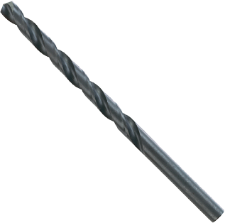 BL4002 12 pc. 2 Diameter x 3-7/8 In. Wire Gauge Black Oxide Drill Bits