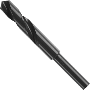 BL2171 11/16 In. x 6 In. Fractional Reduced Shank Black Oxide Drill Bit