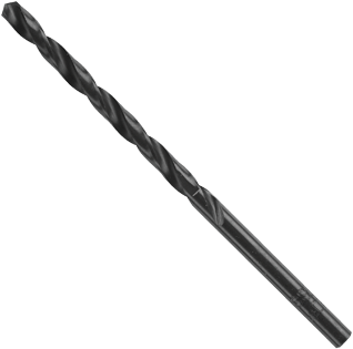 BL4039 12 pc. 39 Dia. x 2-3/8 In. Wire Gauge Black Oxide Drill Bits