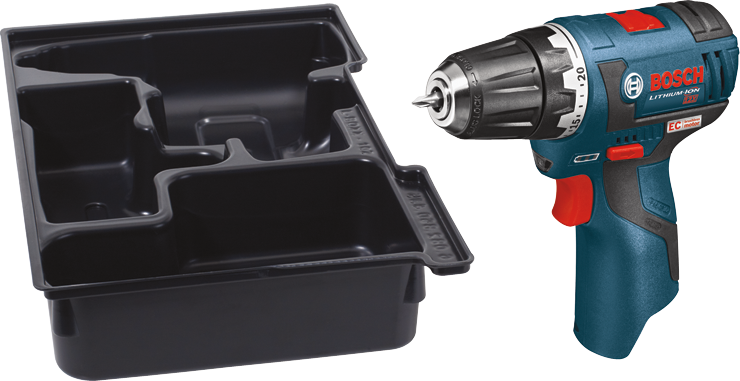 PS32BN 12V Max EC Brushless 3/8 In. Drill/Driver with Exact Fit Insert Tray