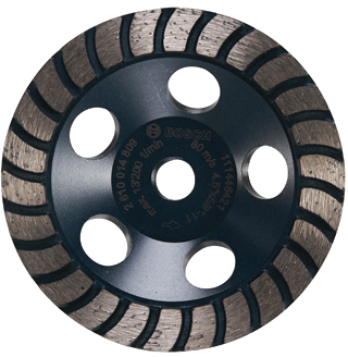 DC4530H 4-1/2 In. Turbo Row Diamond Cup Wheel