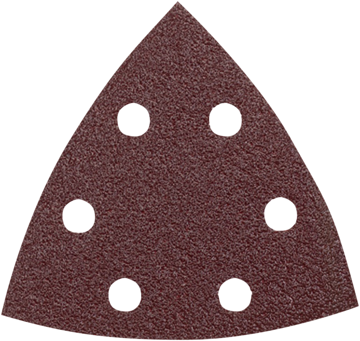 SDTR062 3-3/4 In. 60 Grit 25 pc. Detail Sander Abrasive Triangles for Wood