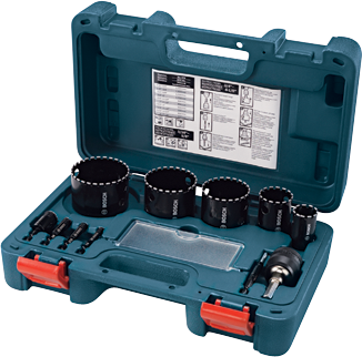 HDG11 11 pc. Diamond Hole Saw Set