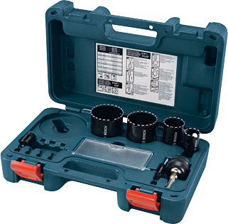 HDG7 7 pc. Diamond Hole Saw Set