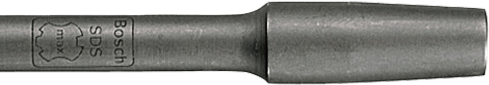 HS1527 12 In. Tamper Plate Shank 3/4 In. Hex Hammer Steel