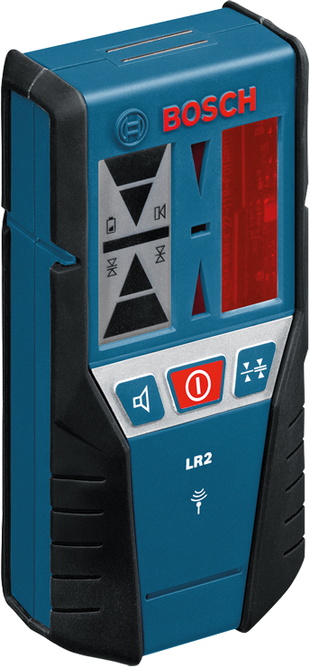 Lr2 165 Ft Red Beam Line Laser Receiver Bosch Power Tools