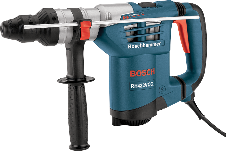 rh432vcq 1 1 4 in sds plus rotary hammer with quick change chuck system bosch power tools. Black Bedroom Furniture Sets. Home Design Ideas