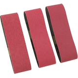 SB4R000 Assorted Grits 3 In. x 21 In. Sanding Belts