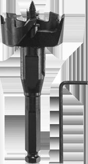 Self-Feed Drill Bit Bosch SF2251 2-1//4 In