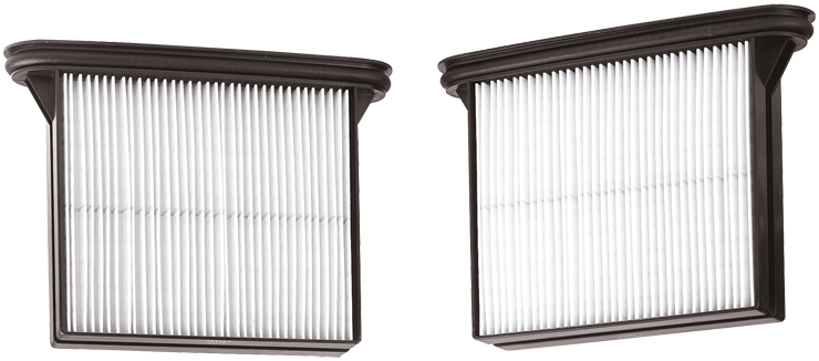 VAC019 HEPA Filters for 3931-Series Dust Extractors (Pair)