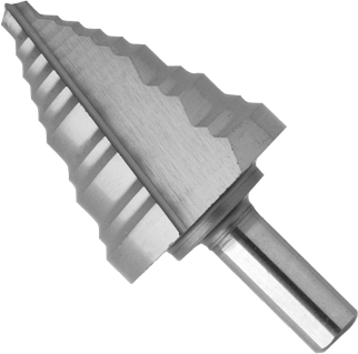 SDH10 1/4 In. to 1-3/8 In. High-Speed Steel Step Drill Bit