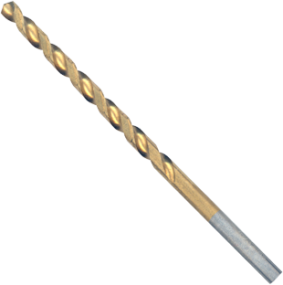 TI2137 5/32 In. x 3-1/8 In. Titanium-Coated Drill Bit