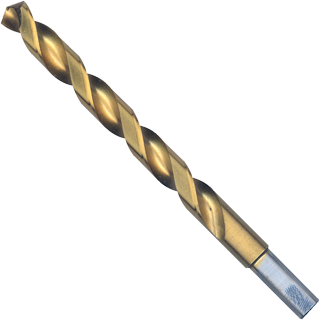TI4146 6 pc. 19/64 In. x 4-3/8 In. Titanium-Coated Drill Bit
