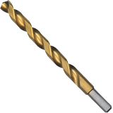 TI4149 6 pc. 11/32 In. x 4-3/4 In. Titanium-Coated Drill Bit