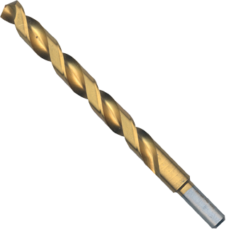 TI2158 31/64 In. x 5-7/8 In. Titanium-Coated Drill Bit