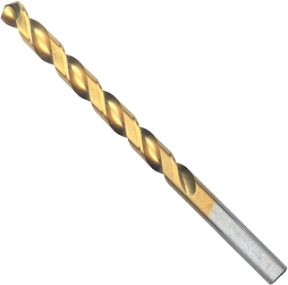 TI2146 19/64 In. x 4-3/8 In. Titanium-Coated Drill Bit