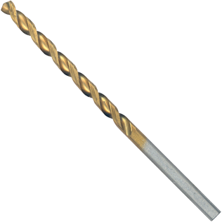TI2136 9/64 In. x 2-7/8 In. Titanium-Coated Drill Bit