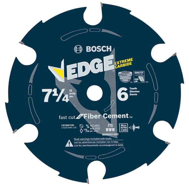 Edge Fiber Cement Circular Saw Blades