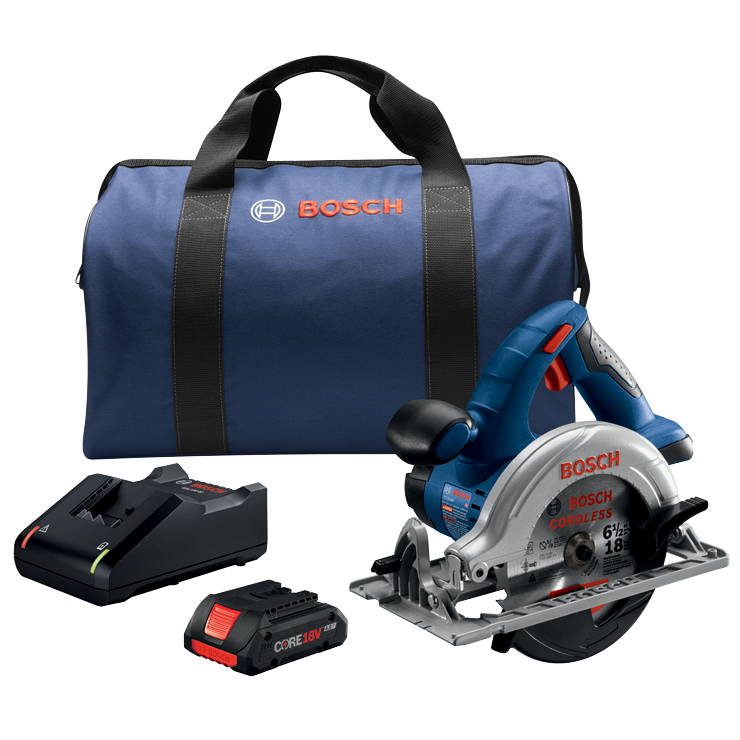 CCS180-B15 18V 6-1/2 In. Circular Saw Kit with (1) CORE18V 4.0 Ah Compact Battery