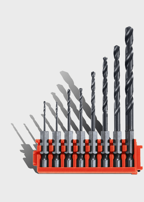 Custom Case System Metal Drill Bit Clips