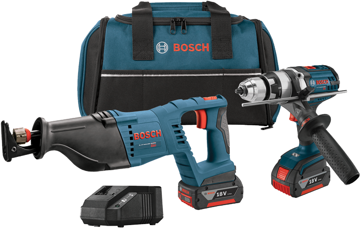 CLPK203-181 18V 2-Tool Combo Kit with Brute Tough 1/2 In. Hammer Drill/Driver and 1-1/8 In. Reciprocating Saw