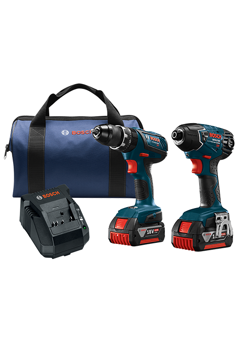 CLPK237A-181 18V 2-Tool Combo Kit with 1/2 In. Compact Tough Hammer Drill/Driver and 1/4 In. Hex Impact Driver