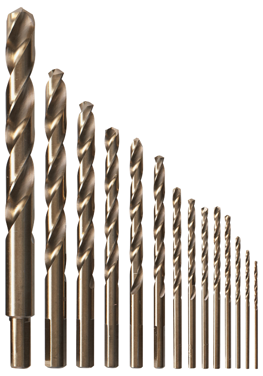 CO14 14 pc. Cobalt Metal Drill Bit Set