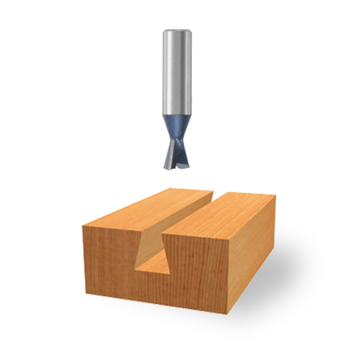 Carbide-Tipped Dovetail Bits