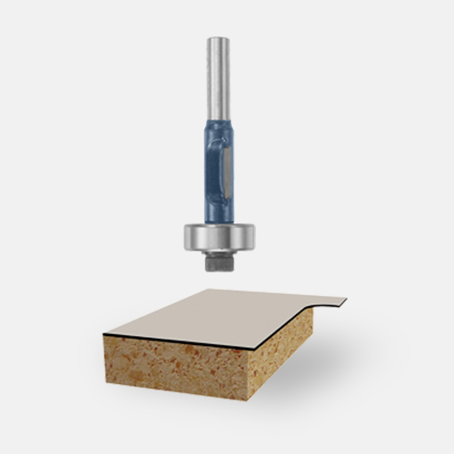 Carbide-Tipped Laminate Trim Router Bits