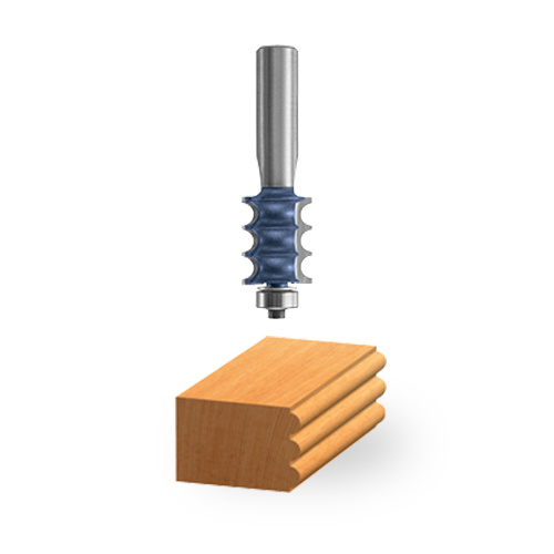 Carbide-Tipped Multi-Bead / Reed Bit