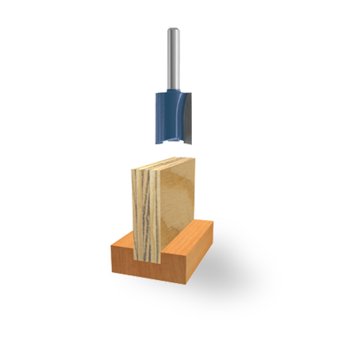 Carbide-Tipped Plywood Mortising Bits
