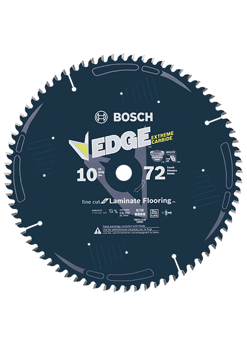 Dcb1072 10 In 72 Tooth Edge Circular Saw Blade For Laminate