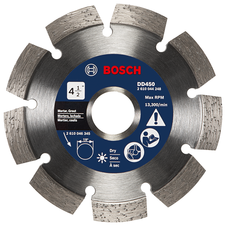 DD450 5 In. Premium Segmented Tuckpointing Blade