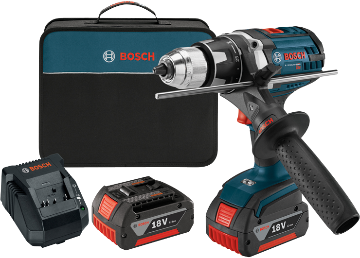 DDH181X-01 18V Brute Tough 1/2 In. Drill/Driver Kit