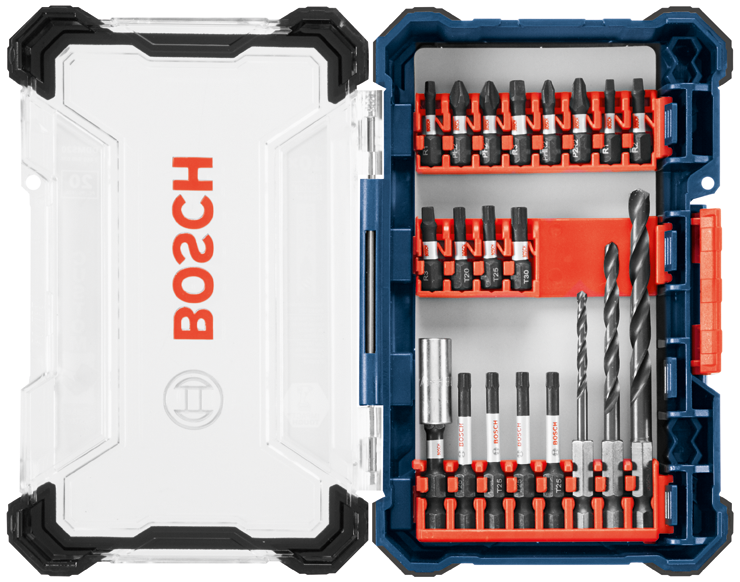 DDMS20 20 pc. Impact Tough™ Drill Drive Custom Case System Set