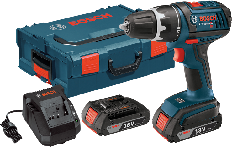 DDS181-02L 18 V Compact Tough Drill Driver with L-BOXX2