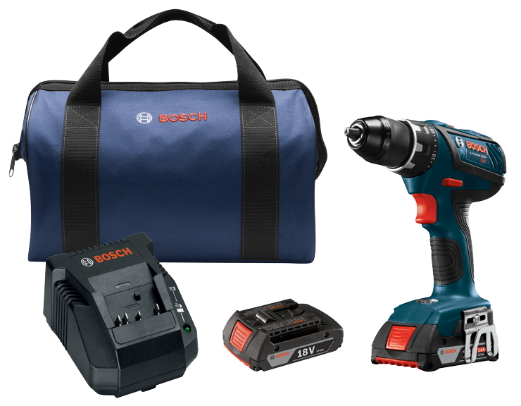 DDS181A-02 18V Compact Tough 1/2 In. Drill/Driver Kit