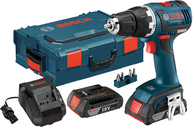 DDS182-02L 18 V EC Brushless Compact Tough™ 1/2 In. Drill/Driver Kit