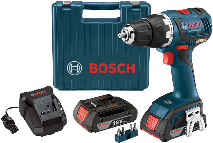 DDS182-02 18 V EC Brushless Compact Tough™ 1/2 In. Drill/Driver