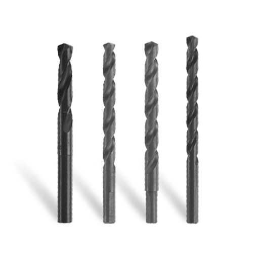 Fractional Jobber Length Black Oxide Drill Bits