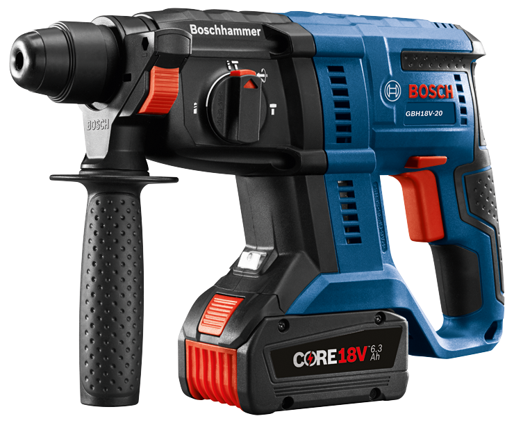 GBH18V-20 Overview 18V SDS-plus® 3/4 In. Rotary Hammer