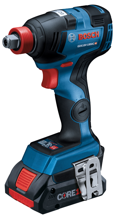GDX18V-1800C Overview 18V EC Brushless Connected-Ready Freak 1/4 In. and 1/2 In. Two-In-One Bit/Socket Impact Driver