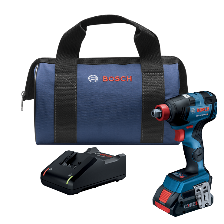 GDX18V-1800CB15 18V EC Brushless Connected-Ready Freak 1/4 In. and 1/2 In. Two-In-One Bit/Socket Impact Driver Kit with (1) CORE18V 4.0 Ah Compact Battery