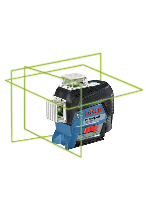 GLL3-330CG 360⁰ Connected Green-Beam Three-Plane Leveling and Alignment-Line Laser