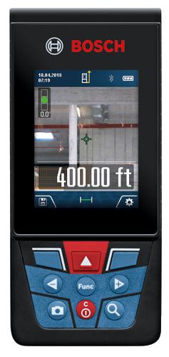 Glm400c Blaze Outdoor 400 Ft Connected Laser Measure