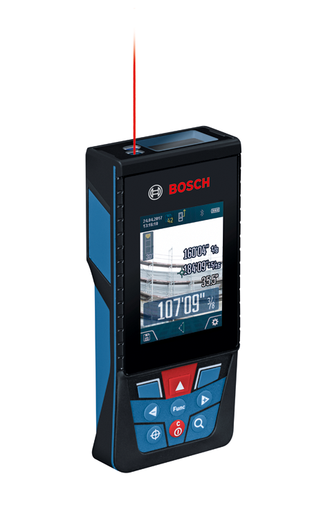 GLM400C BLAZE™ Outdoor 400 Ft. Connected Laser Measure with Camera Viewfinder