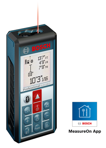 GLM 100 C | Laser Measure with Bluetooth Wireless Technology | Bosch ...